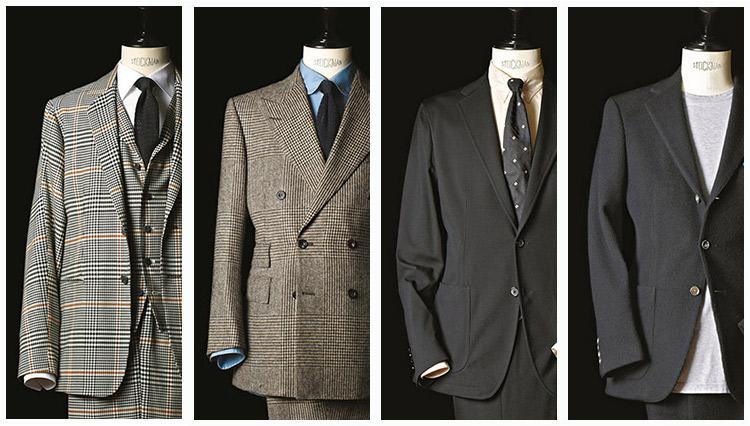 人と差がつく個性派スーツ。キーワードは貫禄か、快適か?