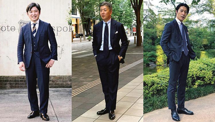 【インスタsnap】すぐ真似したい「ネイビースーツの着こなし」実例集7選
