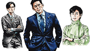 ドラマ『SUITS/スーツ2』登場人物のスーツの着こなしをチェック!