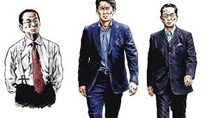 ドラマ『相棒season19』水谷豊、反町隆史のスーツの着こなしをチェック!