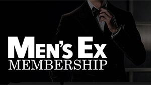 【MEN'S EX MEMBERSHIP】プレゼントやイベントご招待! 無料会員登録のご案内
