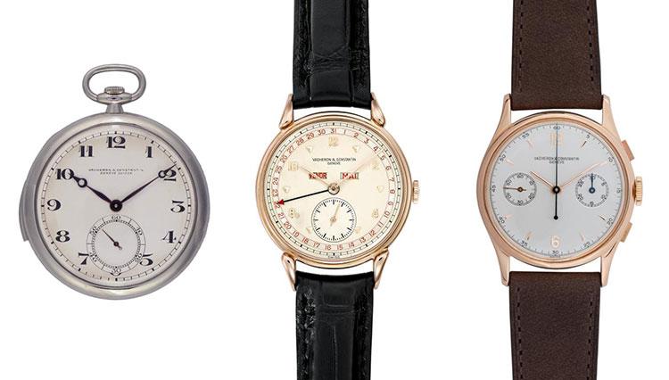 時計愛好家なら垂涎のヴァシュロン・コンスタンタンのヴィンテージ時計が放出!