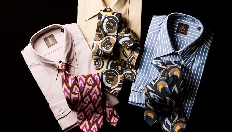 最旬トラッドはこんなシャツ&ネクタイ【ポール・スチュアート青山本店】