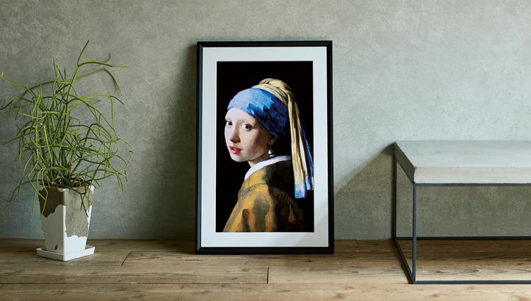 世界中の名画を集めて「おうち美術館」を実現するスマートアートキャンバスとは?