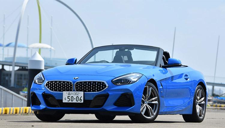 レアな2人乗りオープンカー「BMW Z4 sDrive20i」をオススメしたい理由