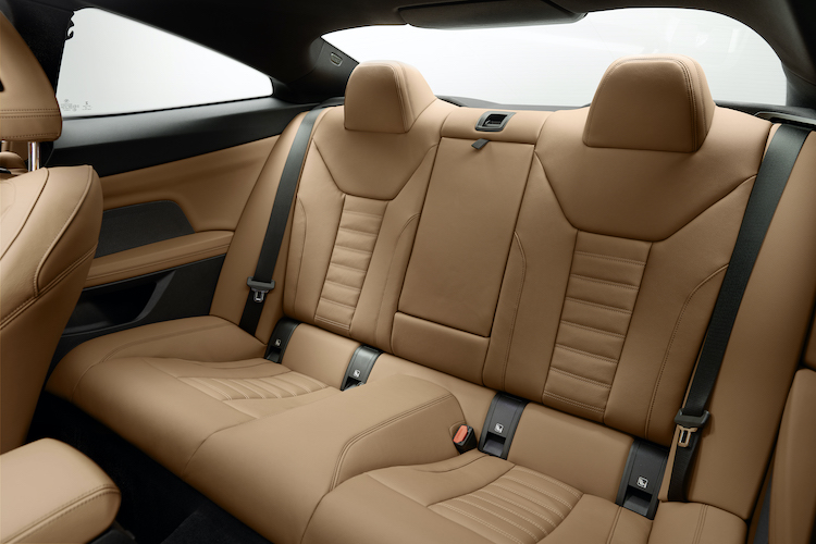 BMW 4シリーズのシート