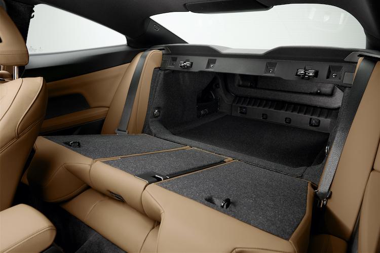 BMW 4シリーズのトランク
