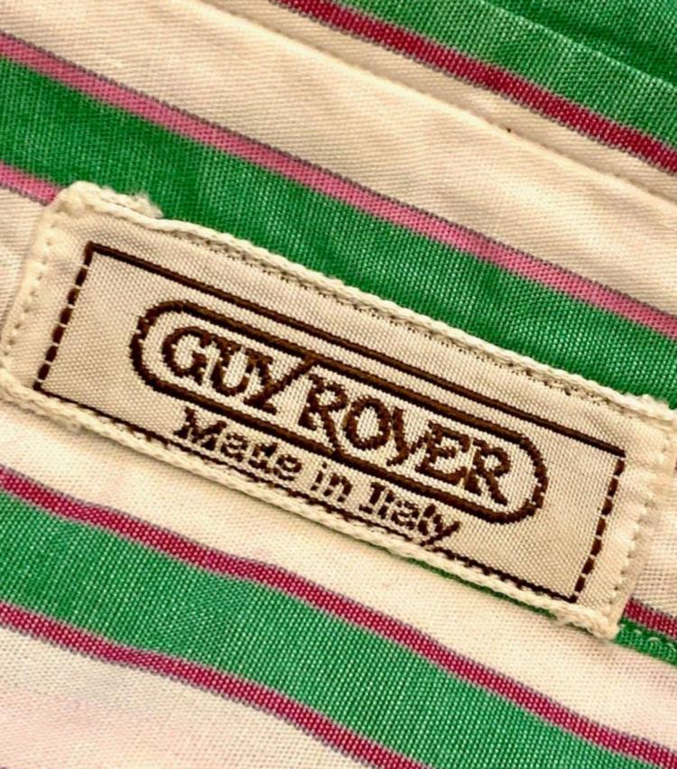 <p>'80年代のギ ローバーのネーム。デザインや色使いが、'80年代の趣を感じさせる。</p>