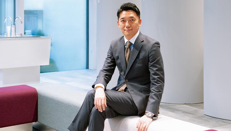 【リーダーの勝負スーツ】自分をどう表現するかが問われる~オルビス代表取締役社長・小林琢磨さん