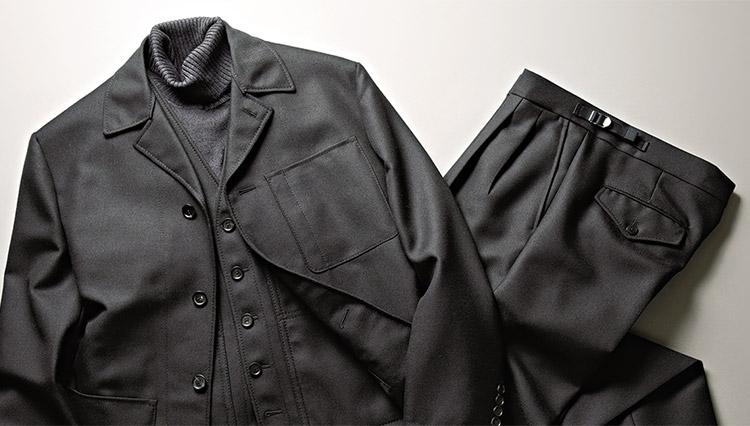 エストネーション推薦のワークな3ピーススーツ。その魅力とは?