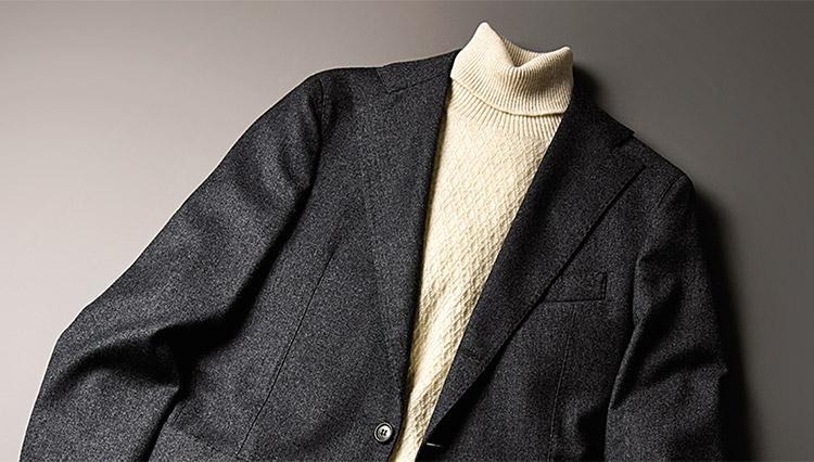 髙島屋で聞いたイチ押しのNo.1スーツは「スマートフランネル」の一着