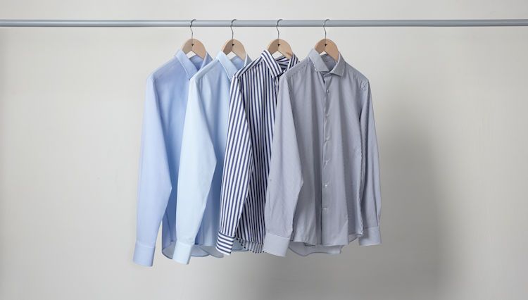 ギュンギュン伸びるシャツ「トライアーノ」の特別なオーダー会が開催中!