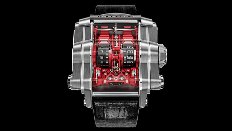 メカメカしさがたまらない、まるで腕につけるスーパーカー!? 【超弩級 複雑腕時計図鑑】