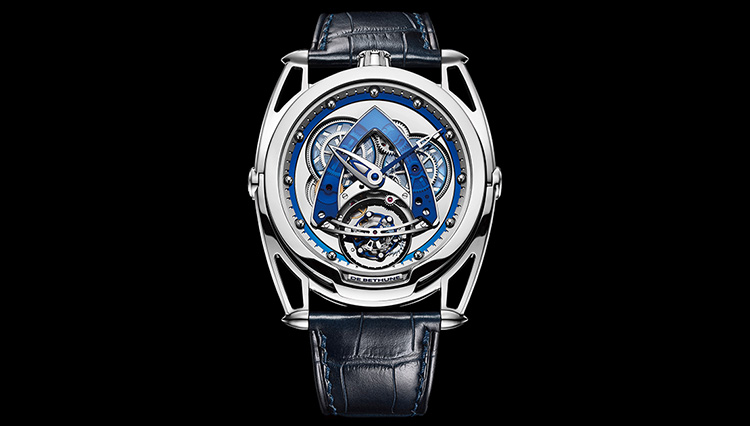 0.0001g以下を含む全63パーツで構成されたトゥールビヨン【超弩級 複雑腕時計図鑑】