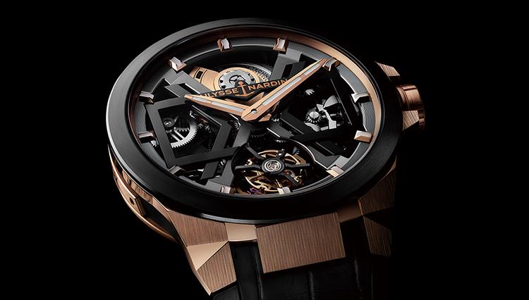 ステルス戦闘機から着想したユリス・ナルダンのスケルトン時計は中身も弩級だった!