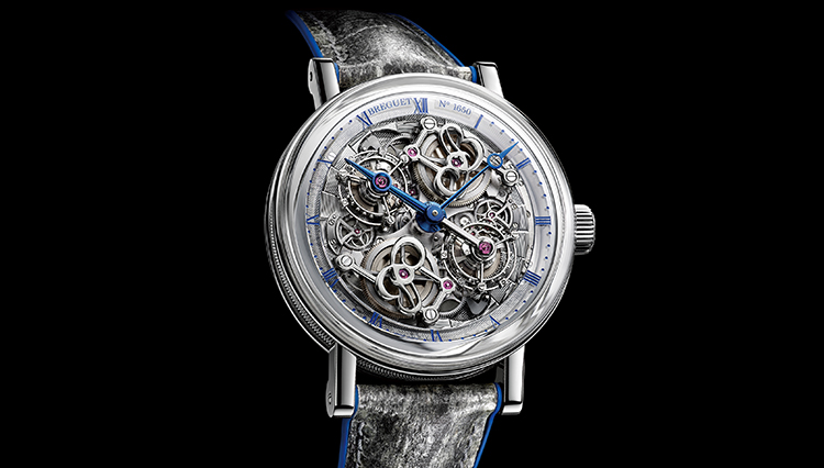 魔法の言葉!?「ケ・ド・ロルロージュ」。実はブレゲの超弩級トゥールビヨン時計です