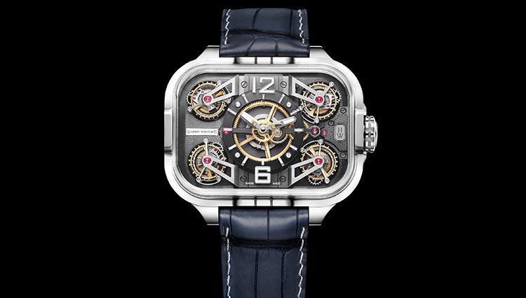 ハリー・ウィンストンに「トゥールビヨン4点盛りの超弩級腕時計」があるって本当!?