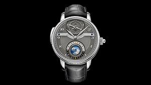 高級万年筆のモンブラン? いえいえ、こんな超弩級の腕時計も作っています