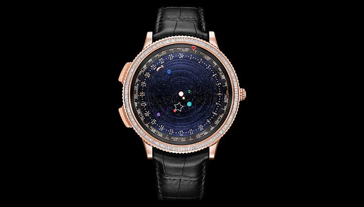 【今、何時かわかる?】ヴァン クリーフ&アーペルの詩的な太陽系プラネタリウム腕時計