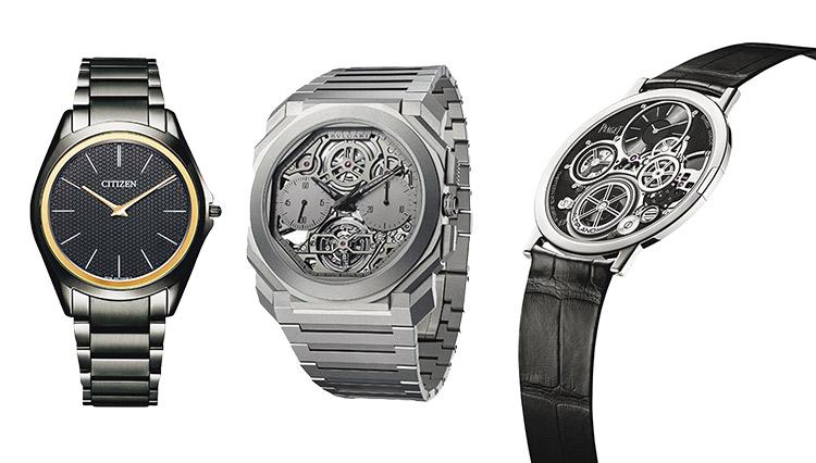 ブランドの威信をかけた超薄型の「芸術時計」に惚れ惚れ!【至高の3モデル】