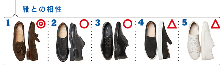 エルネストに合う靴