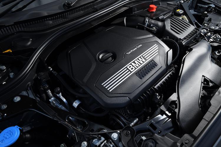 BMW 2シリーズ グランクーペのエンジン