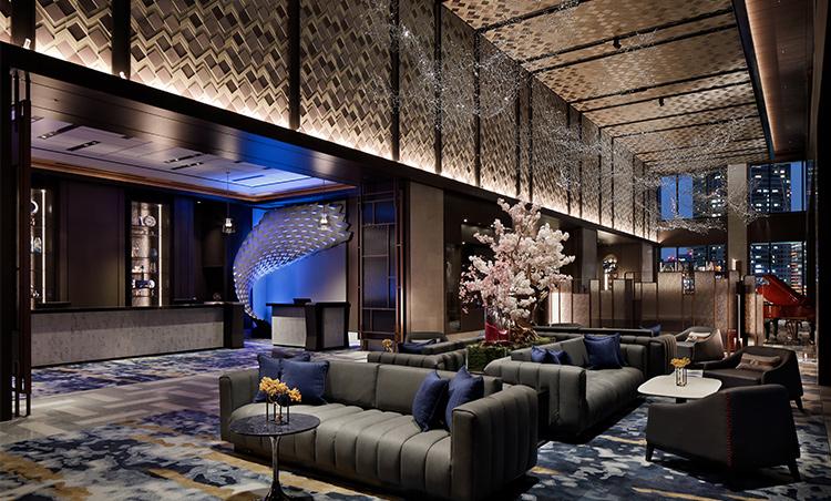 <p>ホテルロビー</p>