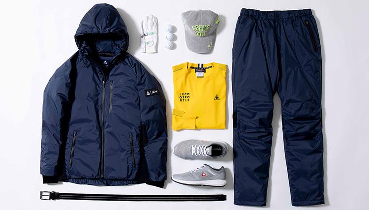「さむ~いっ!」冬のゴルフは、上下セットアップで着ぶくれなし&簡単スマートに!