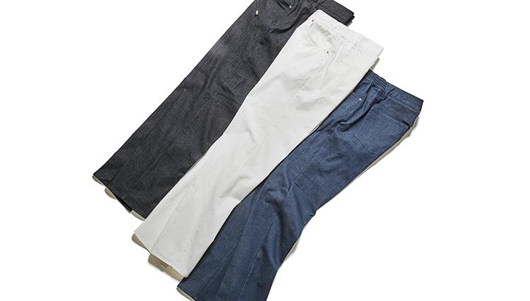 5ポケットのデニムパンツ、40代メンズが買うならこの1本を試してみて!