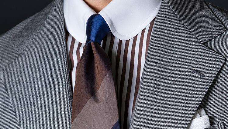 「ネクタイ1本買い足すなら、どんな柄が正解?」今季おすすめはマルチストライプ!