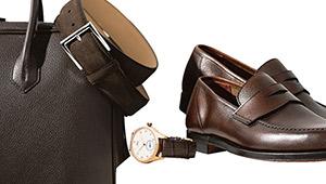 「靴や革小物と時計ベルトの色を合わせる」のは、お洒落か、ダサいか?