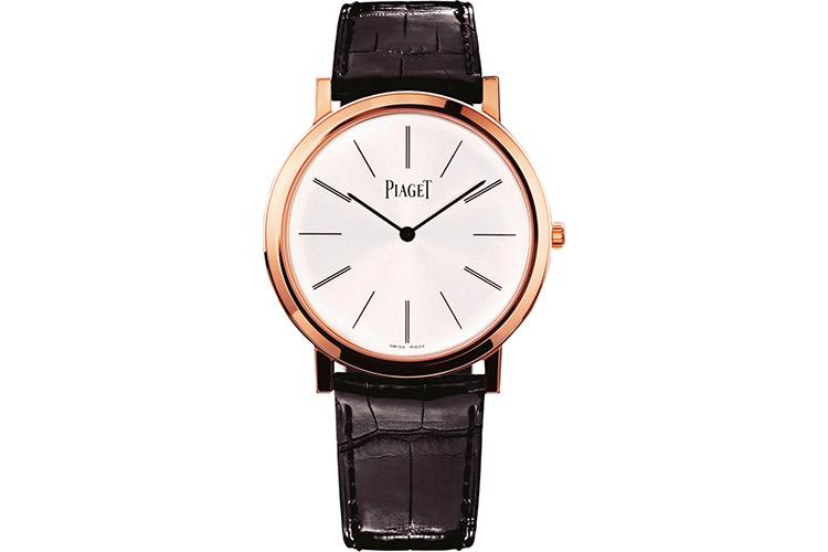 ピアジェの金のドレス時計