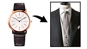 フォーマルの席にステンレススチール(SS)製の時計はマナー違反なの!?