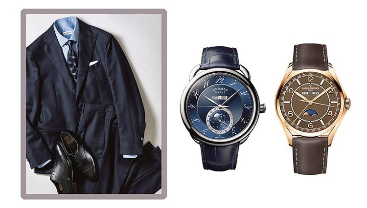 本誌ウォッチディレクターが選んだ「スーツに合わせるならこの時計」