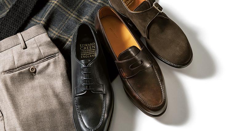 今や本格靴の万能選手と言えば「内羽根のストレートチップ」…ではない!?