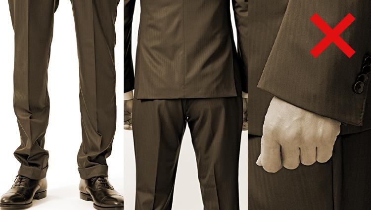 スーツ姿を知的に見せる「サイズ選び」の正解とは?【ビジネスの装いルール完全BOOK】