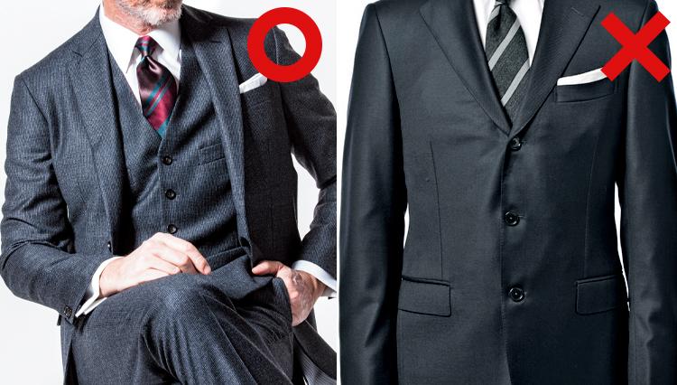 スーツのジャケットのボタンはどこを留めるのが正解?