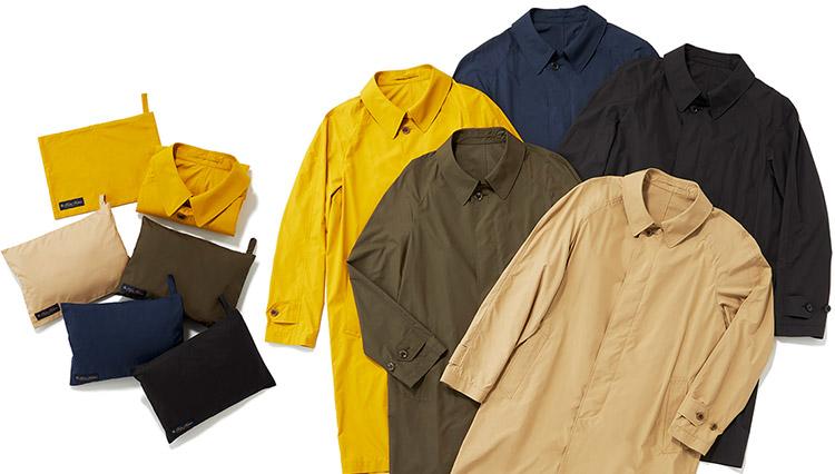 ブルックス ブラザーズの新作スプリングコートは、持ち運べるパッカブル仕様!