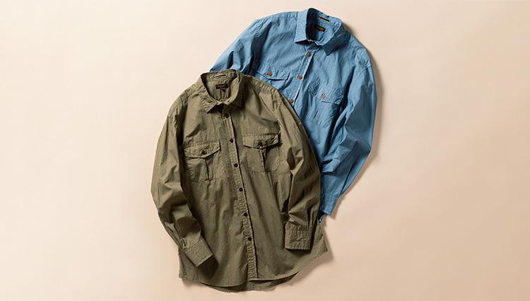 休日の春シャツの主役に「ポール・スミス コレクションのカジュアルシャツ」