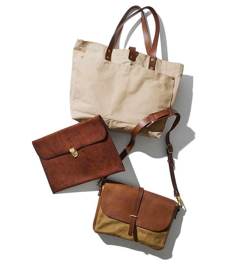 キングスレー・ウォルターズの鞄3種