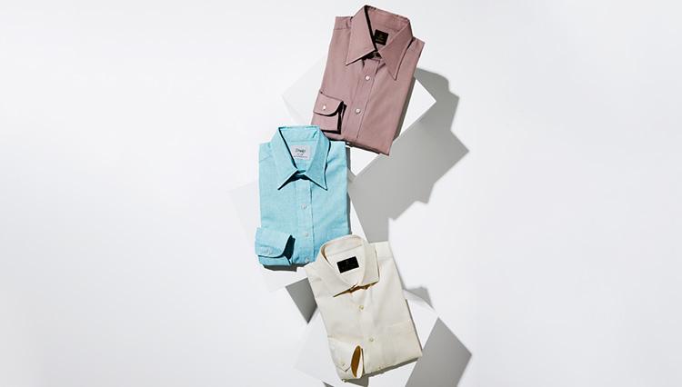 【シャツ戦国時代】メンズも臆せず「淡色のシャツ」を選んでみては?