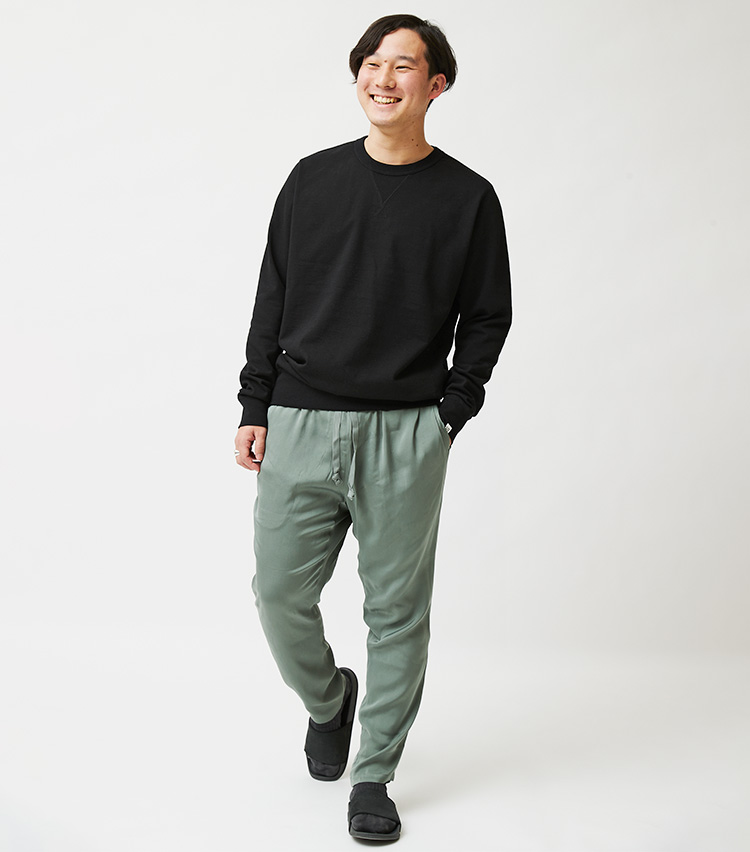 ファッション担当樗澤