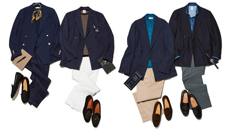 ダブルのジャケットはこう着こなせば、若々しく爽やかに見える【コーディネート4選】
