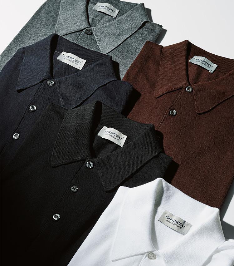 ジョンスメドレーのポロシャツ集合