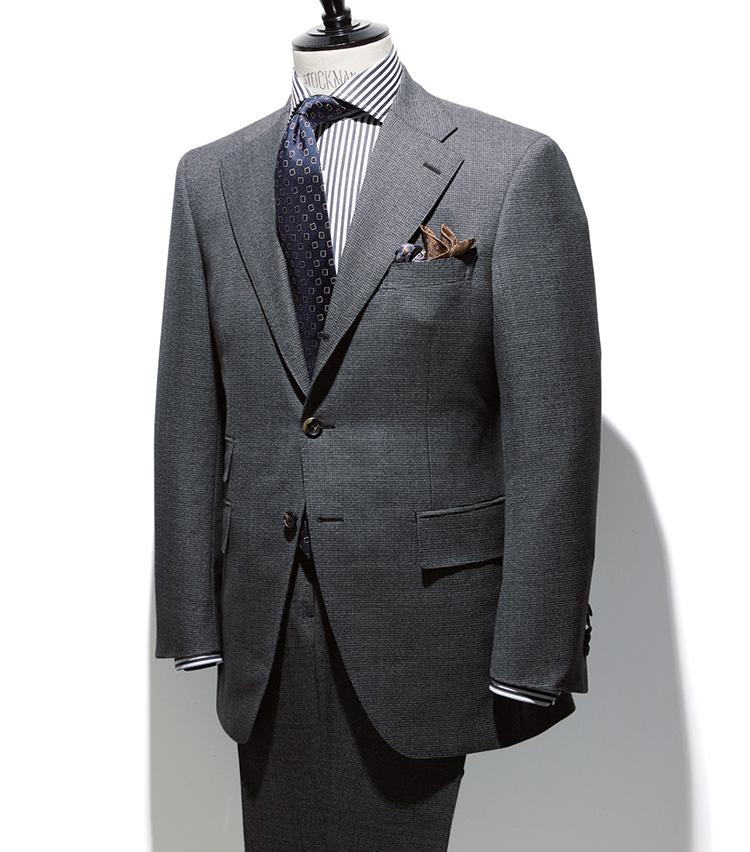 京都ビスポーク_ベーシックラインのスーツ