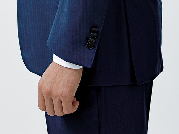 スーツを着た時の袖口