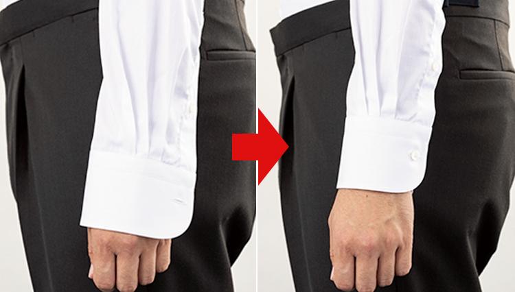 意外にできていない人が多い「ビジネスシャツ」のジャストフィットを見極めるコツは?
