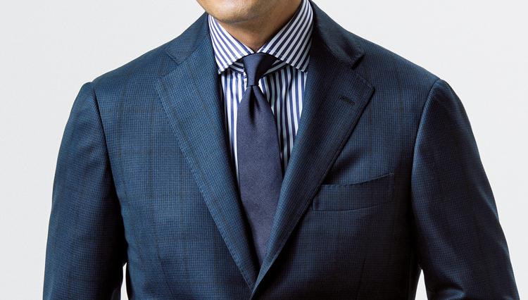 「ネクタイは結び目が9割」。正しく結べているか、チェックすべきポイントは3つ!