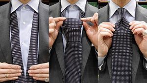 ネクタイの結び方は「プレーンノット」を極めるだけで好印象になれる!