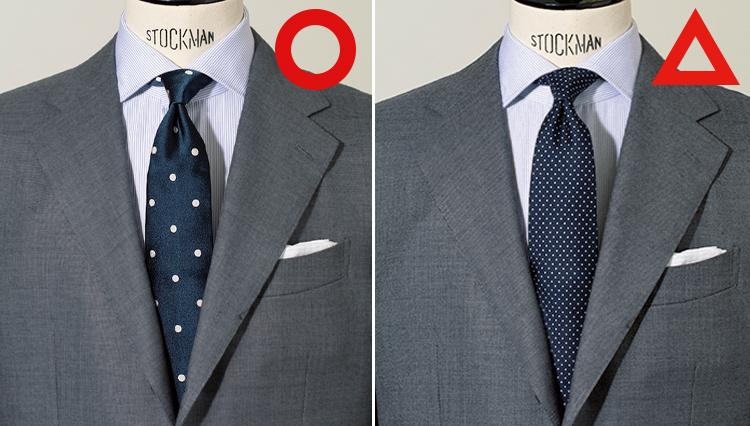 「ネクタイがどうも似合わない人」が知らない、簡単なコーディネートのルールとは?